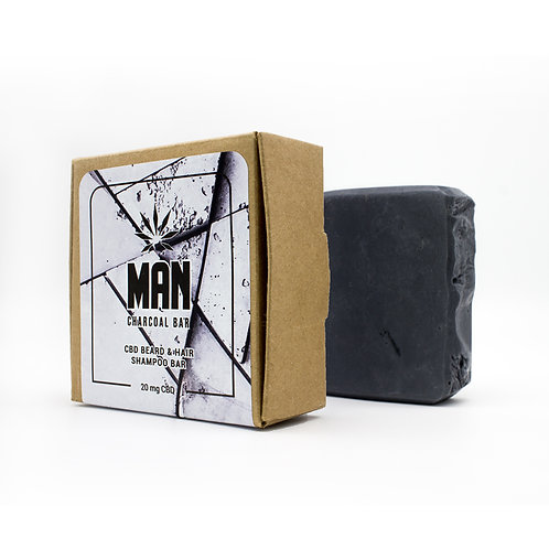 MAN Charcoal Shampoo Bar