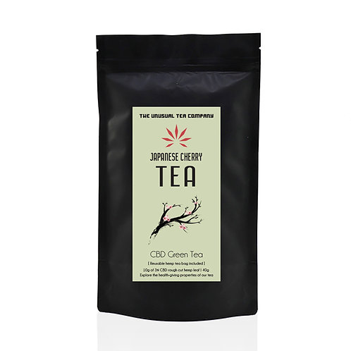 Japanese Cherry Hemp Tea