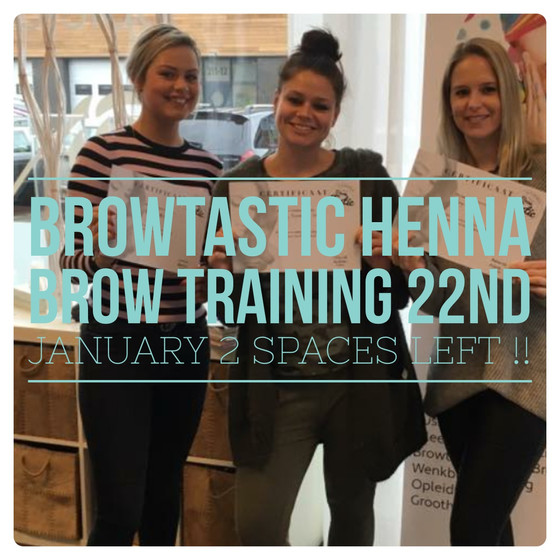 The number 1 UK Henna Eye Brow Accredited training company