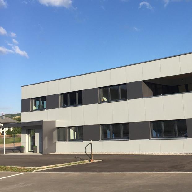 Bürogebäude Holzrahmenbau