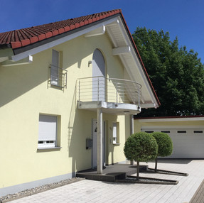Einfamilienhaus Neubau Dachstuhl