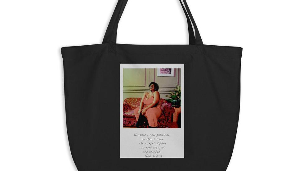 Large Eco-Organic Tote bag |  Weekender | Potential