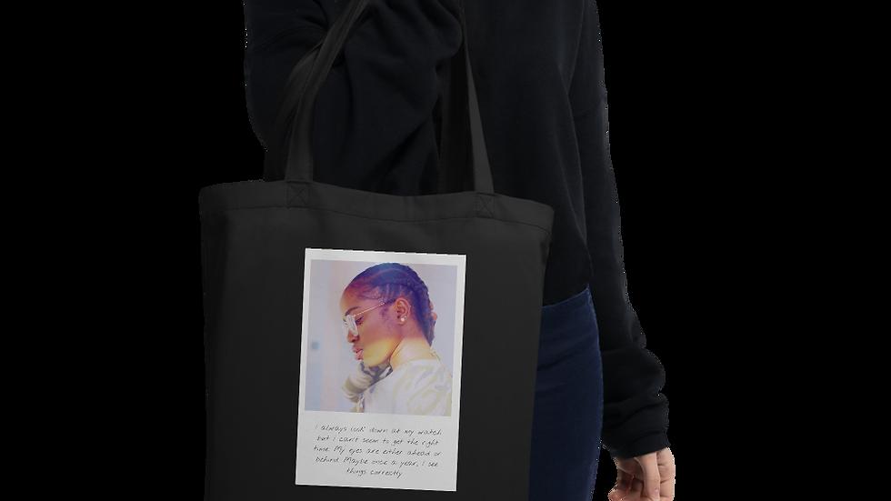 Eco Tote bag | Designer Organic bag | Right Time
