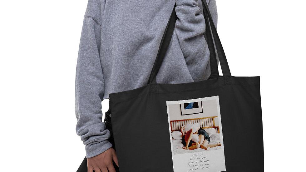 Large Eco-Organic Tote bag |  Weekender | Growth