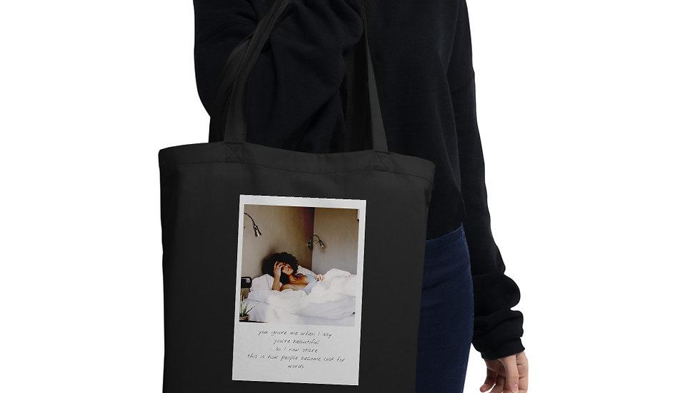 Eco Tote bag | Designer Organic bag  | Lost for words