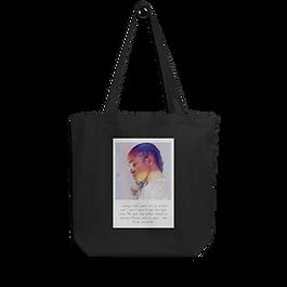100 Percent Cotton | Designer Black Tote Bag | Sturdy Canvas
