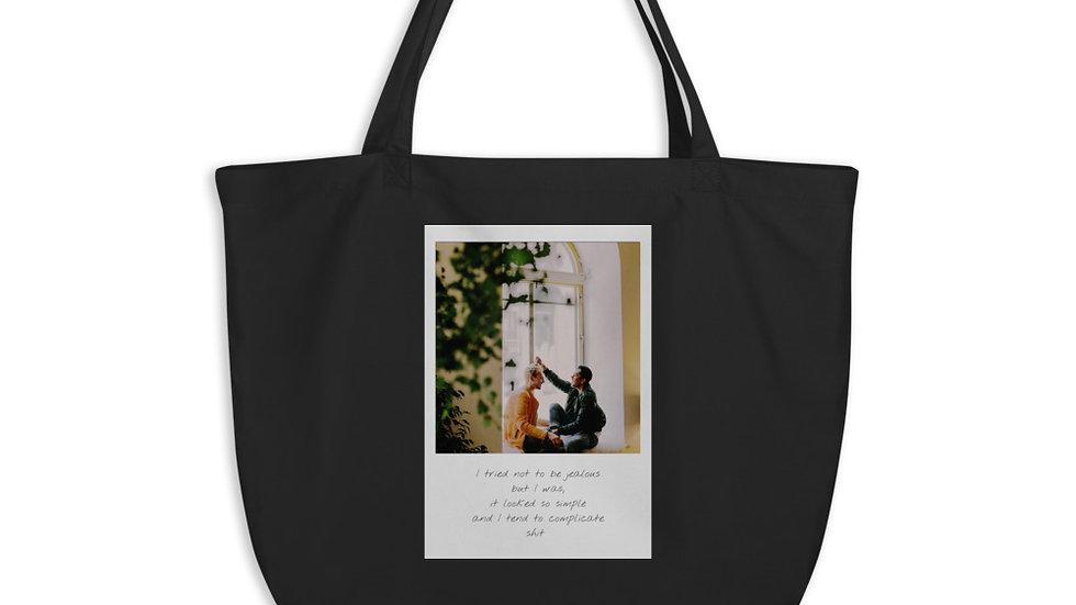 Large Eco-Organic Tote bag |  Weekender | Jealous