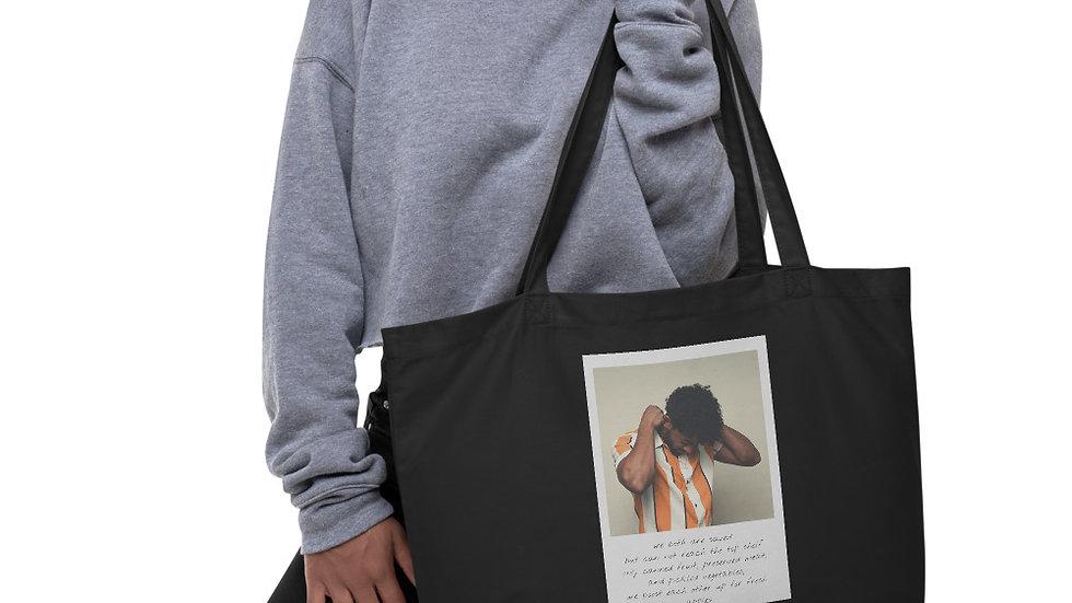 Large Eco-Organic Tote bag |  Weekender | Saved
