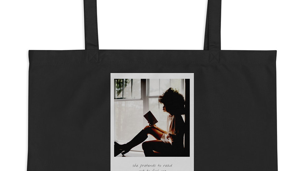 Large Eco-Organic Tote bag |  Weekender | Think