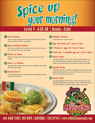 Wix welcome to los mariachis mexican restaurant red bluff ca breakfast specialpdf forumfinder Choice Image