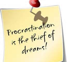 Procrastination - Part 1