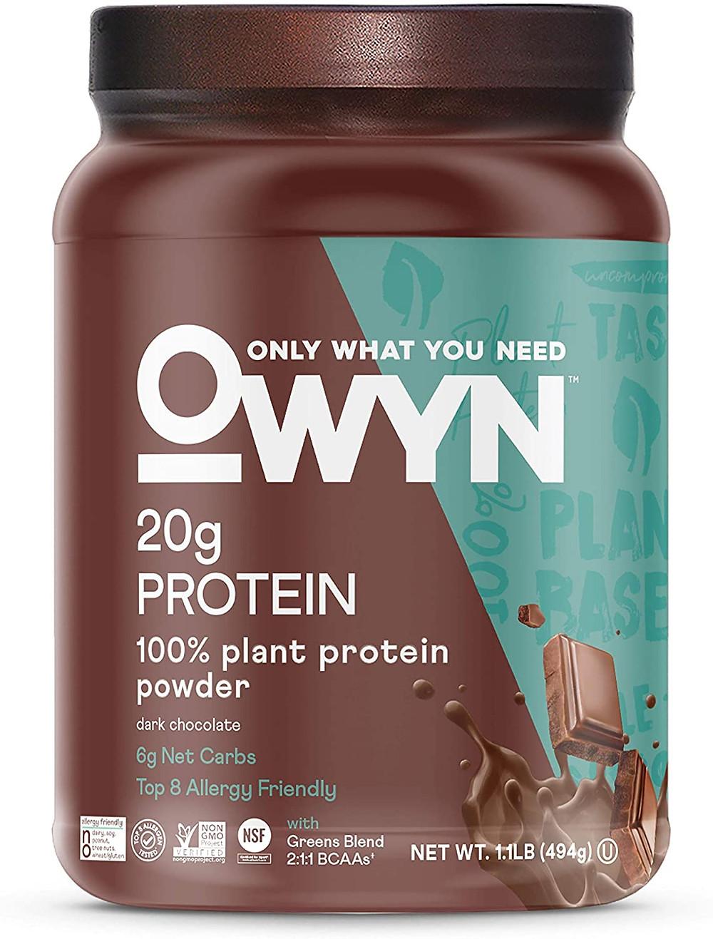 chocolate nut free protein powder