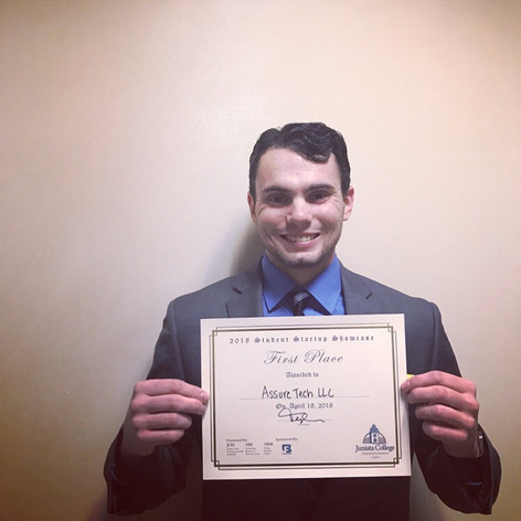 1st-Place Finish in the Juniata College Startup Showcase Pitch Competition