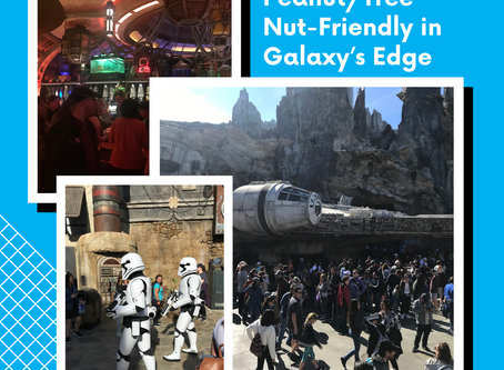 Food Allergy-Friendly Food in Disney's Galaxy's Edge - Celebrating Star Wars Day