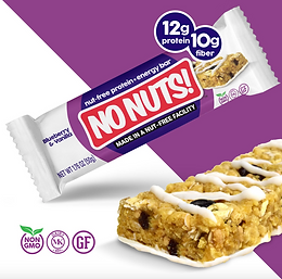 No Nuts! Blueberry & Vanilla Protein Bars