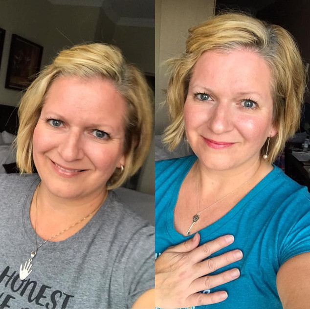 Before & After Heal Your Life Work
