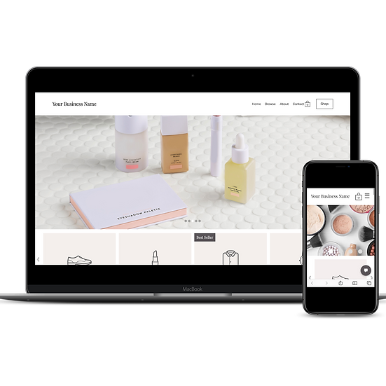 Simple eCommerce Site