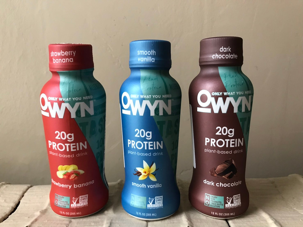 OWYN allergy free protein shakes