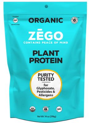 ZEGO nut free protein powder