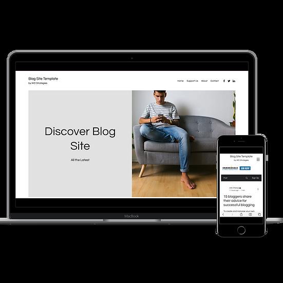 Clean Blog Website