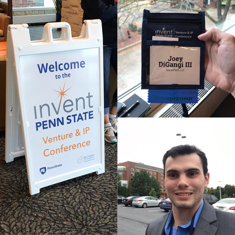 Mentioned for Participating in Invent Penn State's Venture & IP Conference