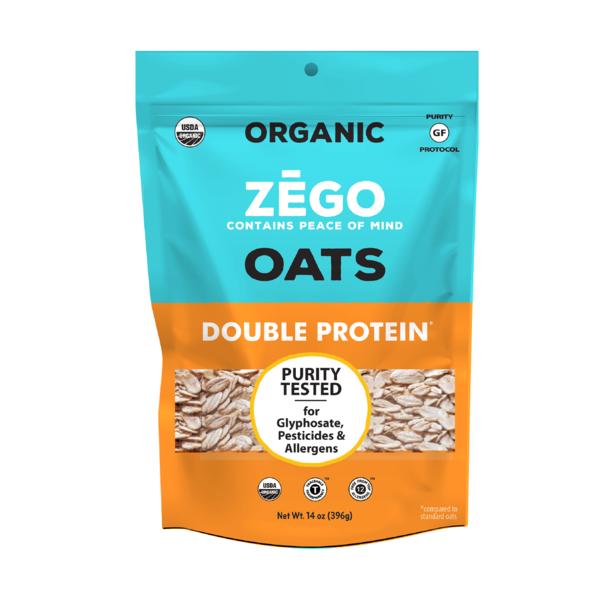double protein oats zego foods