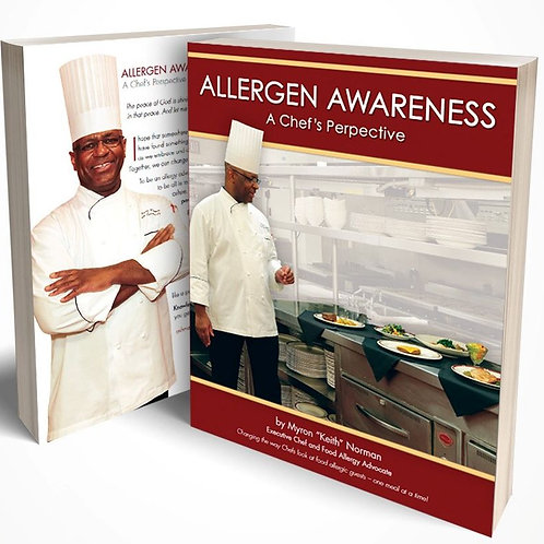 Allergen Awareness: A Chef's Perspective - Signed by Author