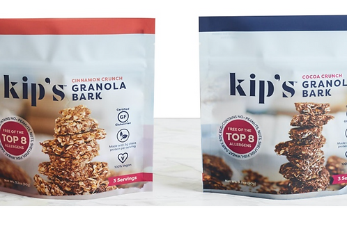 Kip's Mixed 12 pack: Snack sized Granola Bark