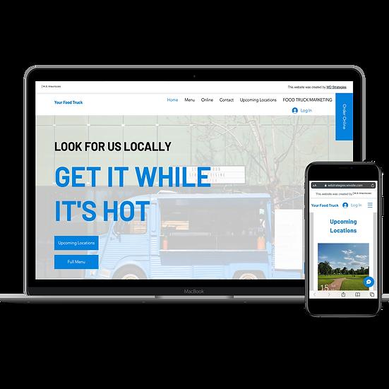 Interactive Food Truck Website