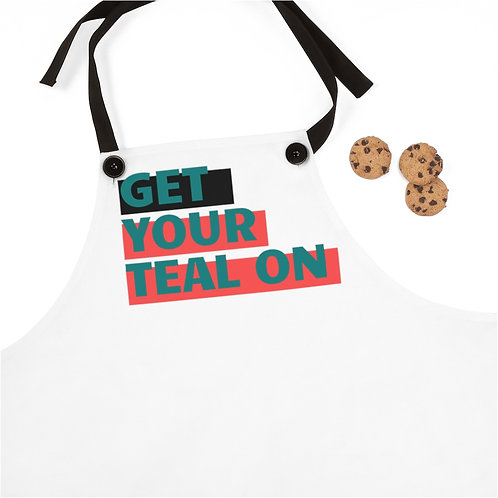 """""""Get Your Teal On"""" Apron"""