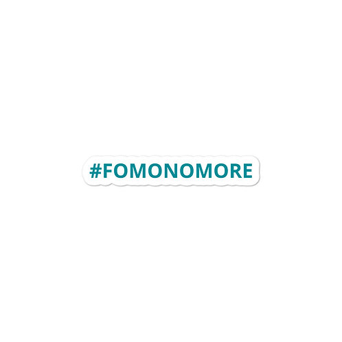 #FOMONOMORE stickers