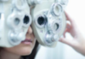 Eye test at Westgate Optometrist in Auckland