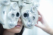 refração - teste para óculos