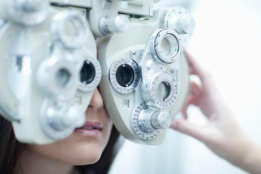 Eye test equipment