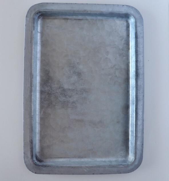 galvanized mini dessert tray