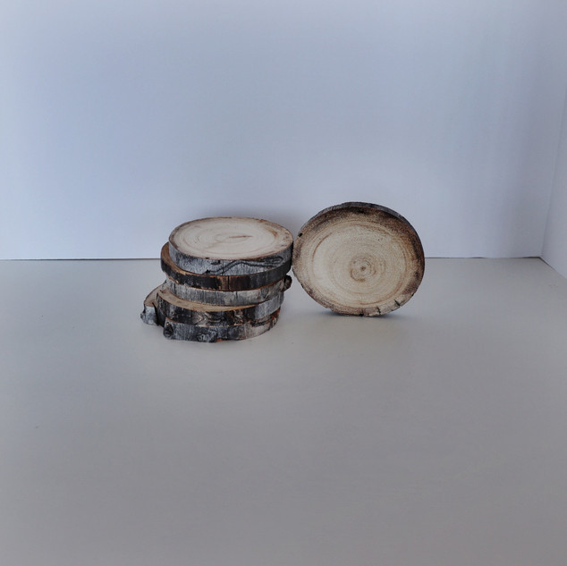 small wood slices