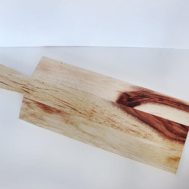 wood dessert tray