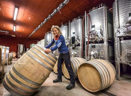 """""""Wir sind eine richtige Weinfamilie"""" Susi Steiger-Wehrli im Regonaljournal AG/SO"""