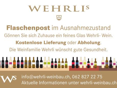 Flaschenpost im Ausnahmezustand: Kostenlose Lieferung oder Abholung