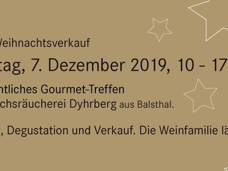 Weihnachtsverkauf 7. Dezember 2019 von 10 bis 17 Uhr