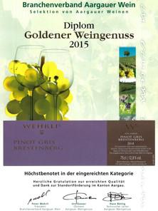 Goldener Weingenuss 2015_Pinot gris Bres