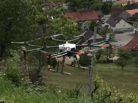 Innovation und Fortschritt: SRF-Interview zum Drohnen-Projekt