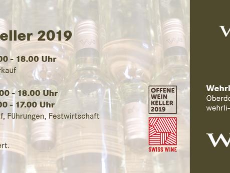Offener Weinkeller - 4. und 5. Mai 2019