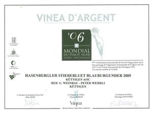 Mondial du Pinot noir 2006_Stierenbluet.