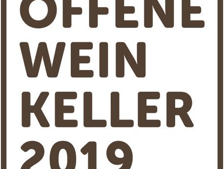 Voranzeige: Offene Weinkeller 2019. Hereinspaziert.