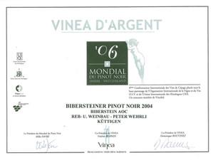 Mondial du Pinot noir 2006_Bibersteiner