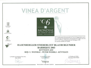 Mondial du Pinot noir 2006_Stierenbluet