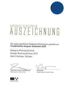 Staatswein_2018_Riesling-Sylvaner_Kütti