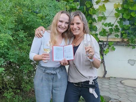 Gratulation zum Lehrabschluss: Jasmin Bucher