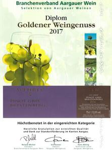 Goldener Weingenuss 2017_Pinot gris Bres